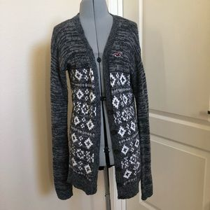 HOLLISTER Fair Isle Cardigan